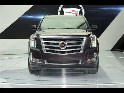 Short Review 2015 Cadillac Escalade Platinum - Exterior and Interior