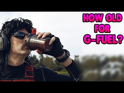 HOW OLD DO YOU HAVE TO BE TO DRINK GAMMA LABS G-FUEL?