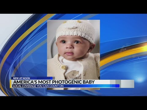 Rob and Hilary - Is America's most photogenic baby in Birmingham?