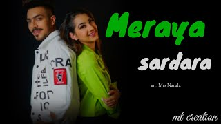 meraya sardara ve ॥ punjabi song Mr Mrs Narula by mt creation