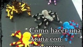 Repeat youtube video como hacer una araña con limpiapipas