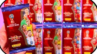 WM 2018 Adrenalyn XL Fifa World Cup Pack Opening ★ Trading Cards Unboxing