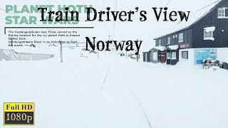 Train Driver's View: Voss - Ål on the Sami National Day