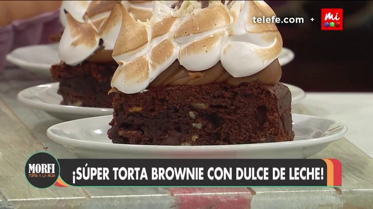 Súper Torta Brownie Morfi Youtube