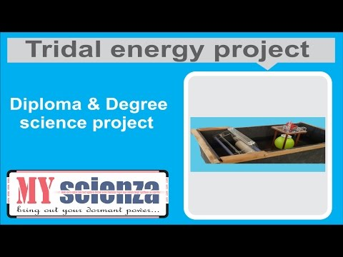 Tridal energy project