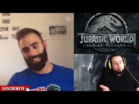 Charlando sobre Jurassic World y El Reino Caído con Julio de FYD Comics y Cine