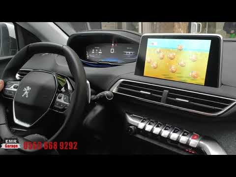 Yeni Kasa Peugeot 5008 Android Interface Multimedya Sistem Inceleme - Emr Garage Ankara