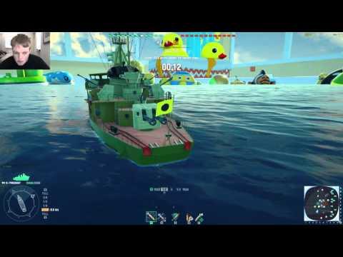 World of War Ships 1 april Grap