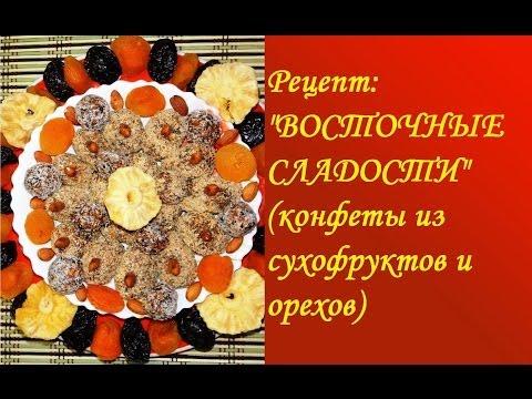 Сладости из орехов