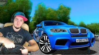ДРУГ ДАЛ ПРОКАТИТЬСЯ НА НОВОМ BMW x6m - City Car Driving с РУЛЕМ
