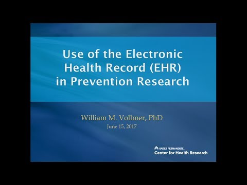 Use of the Electronic Medical Record in Prevention Research