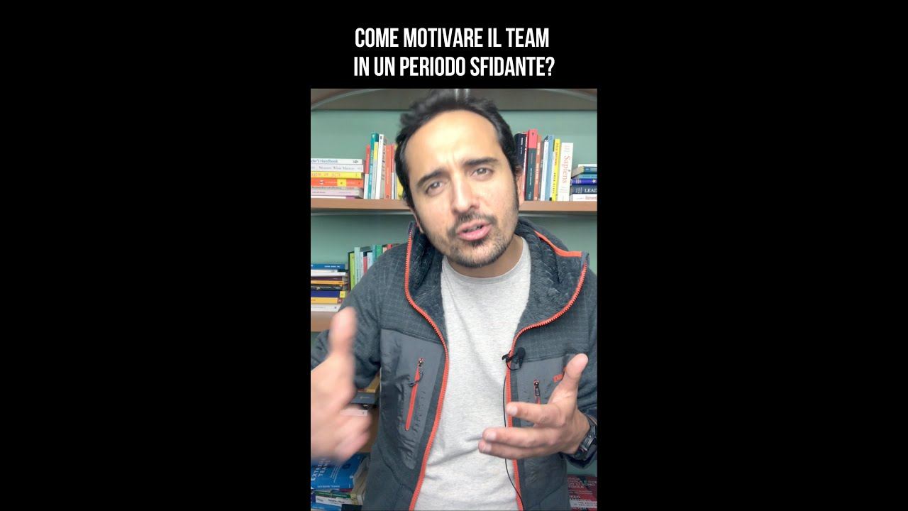 Come motivare il team in un momento sfidante?