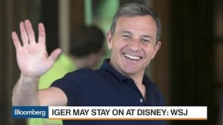 Iger May Stay on at Disney: WSJ