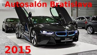 Autosalón Bratislava 2015 - full preview
