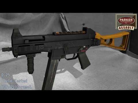 UMP-45 Caramel - Skin Wear Preview
