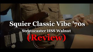 Squier Classic Vibe '70s Stratocaster HSS Walnut