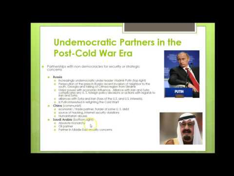 Foreign Policy Post-Cold War Era