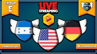 BS WORLD CUP - GRUPA E - MISTRZOSTWA ŚWIATA W BRAWL STARS - Na żywo