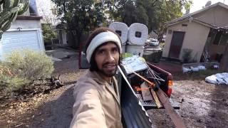 South Central Vegan Gets Craigslist FREE Rain Barrels + Materials 4 Freedom Gardens