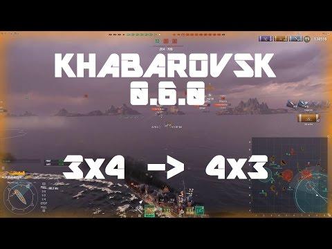 Khabarovsk 0.6.0 - 3x4 Evolves Into 4x3 [227k damage]