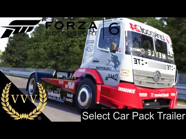 Forza Motorsport 6 Select Car Pack Trailer