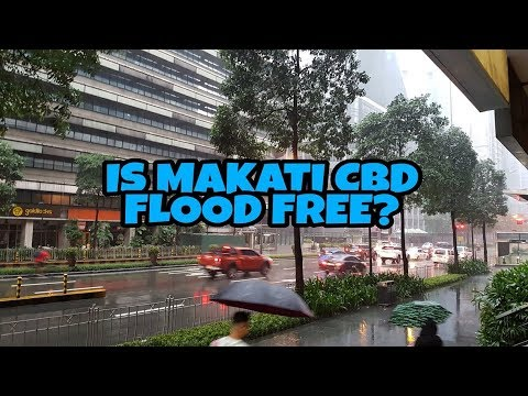 MAKATI CITY ON A RAINY DAY!