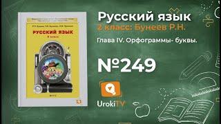 Упражнение 249 — Русский язык 2 класс (Бунеев Р.Н., Бунеева Е.В., Пронина О.В.)