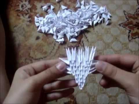 3D Origami Dragon Tutorial YouTube