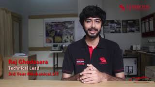 Formula Student Team : Mechanical Department , SIT