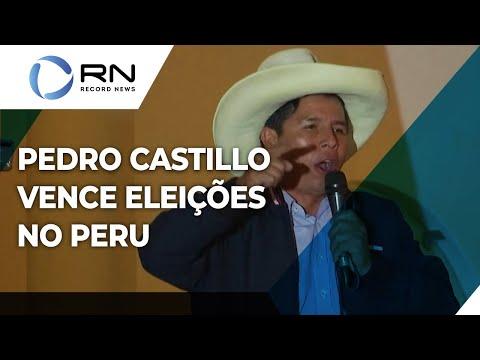 Pedro Castillo vence eleições apertadas no Peru