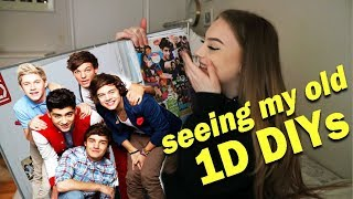 Reacting to my old ONE DIRECTION DIY's