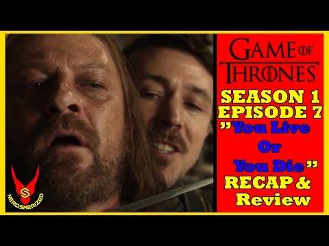 Game Of Thrones Season 1 Episode 7