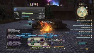 ffxiv crafting bsm lvl 60 3 star items 3 3 patch recipes