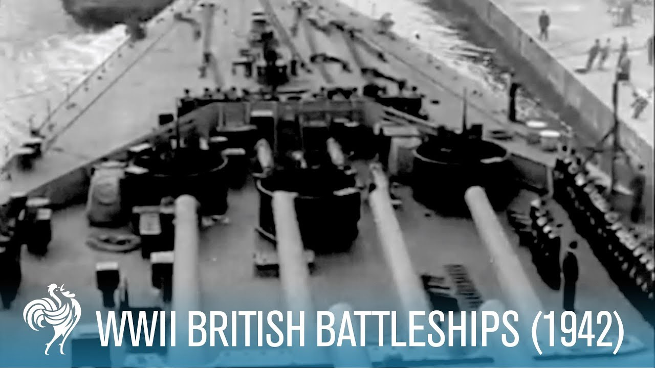 New British Battleships : World War II (1942)