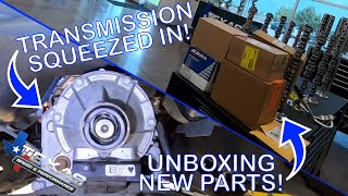 We Smash The Transmission Into The Tunnel Plus Unboxing New Parts!