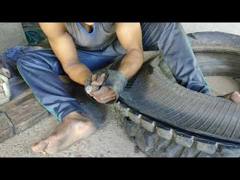 Waste tyre recycling solution suitable for small and medium business Tyre Recycling
