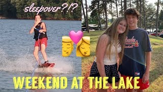 A weekend at the Lake with my girlfriend
