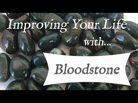BLOODSTONE 💎 TOP 4 Crystal Healing Benefits Of Bloodstone! | Stone Of Courage