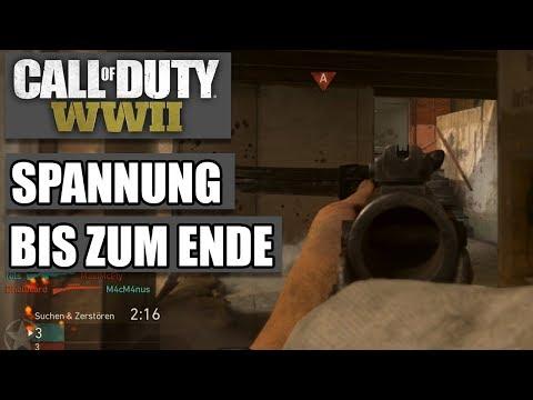 COD WWII Intern #04 - Spannung bis zum Ende - Call of Duty World War 2 MP