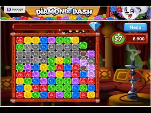 Diamond Dash - Google+ Game