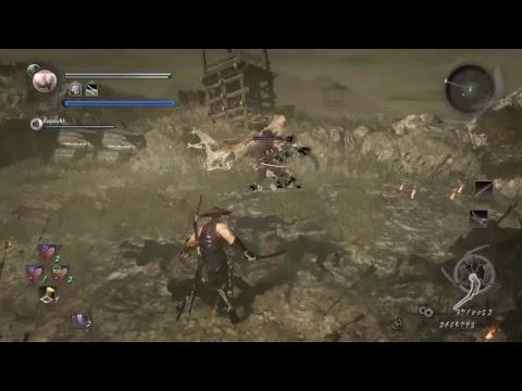 Nioh let'sPlay DLC Coop   lvl180+ Weg des Samurai   Belagerung von Osaka (Winter)   Bigview