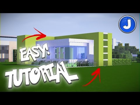 Minecraft House Tutorial Small Modern House - Best build Tutorial #2