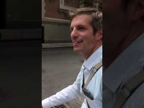 Surprise Reunion with Dad in NYC, June 2017