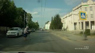 Нарушение ПДД в Керчи
