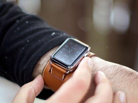 Apple Watch Hermès cuff hands on!