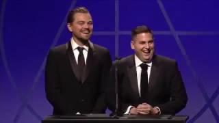 funniest golden globe moment jonah hill and leonardo 2014