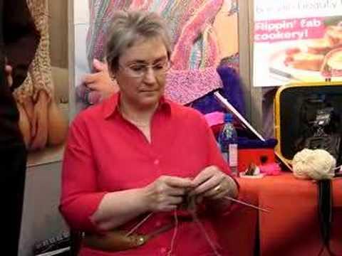 World's Fastest Knitter: Hazel Tindall