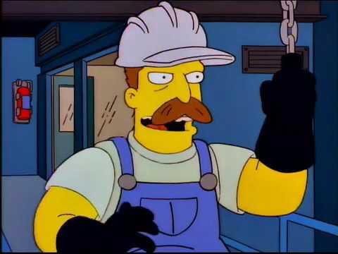 The Simpsons - We Work Hard, We Play Hard (Everybody Dance Now)