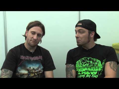 Bullet For My Valentine interview - Michael and Michael (part 1)