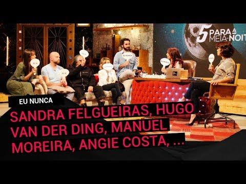"""""""Eu Nunca"""" c/ Sandra Felgueiras, Hugo van der Ding, Manuel Moreira, Fernando Girão e Angie Costa"""